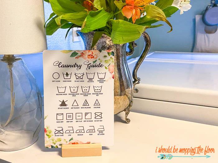 Laundry Symbols Guide