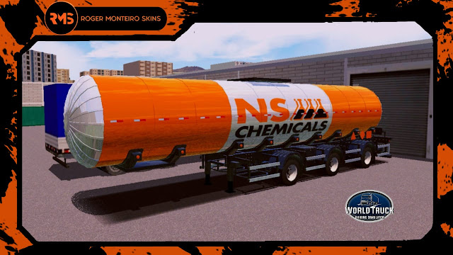 Roger Monteiro Skins, Skins WTDS, Skins Tanque Isotérmico, Tanque Isotérmico