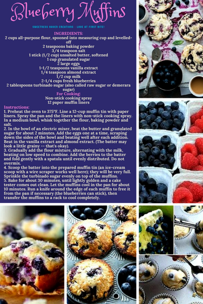 BEST EVER BLUEBERRY MUFFINS RECIPE