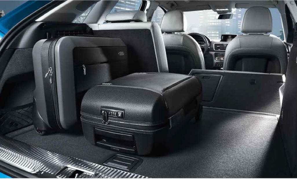 Bagagliaio Audi Q3: capacità volumetrica in litri