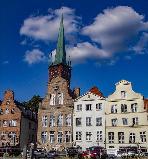 Lübeck, Alemanha, cidade natal de Thomas Mann
