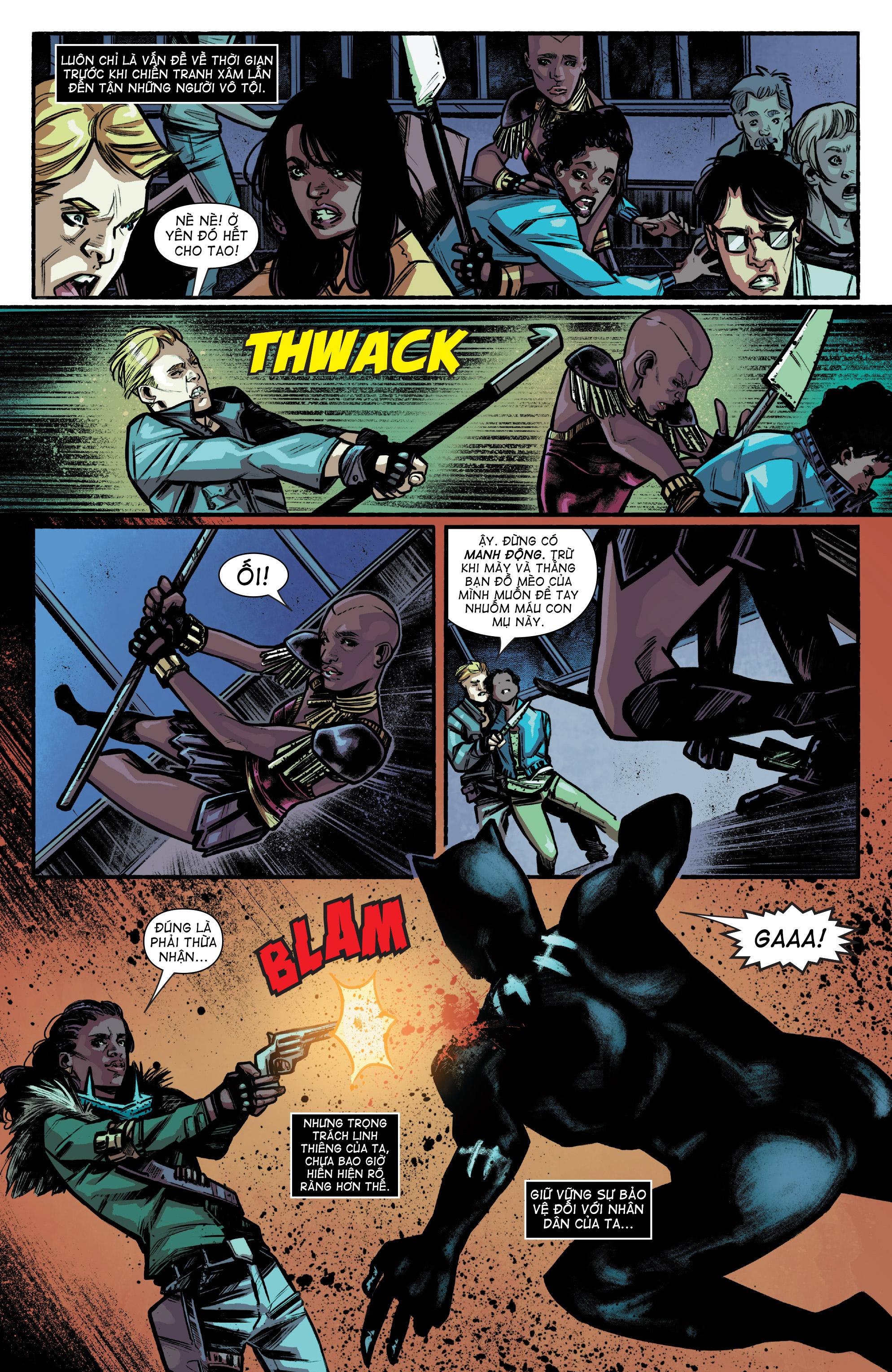 Marvel's Black Panther Prelude - Hoàng Đế Báo Đen Tiền Dẫn
