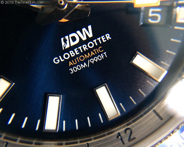 BOLDR Globetrotter Divers Watch Limited Edition blue
