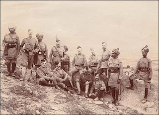 Troops at Malakand