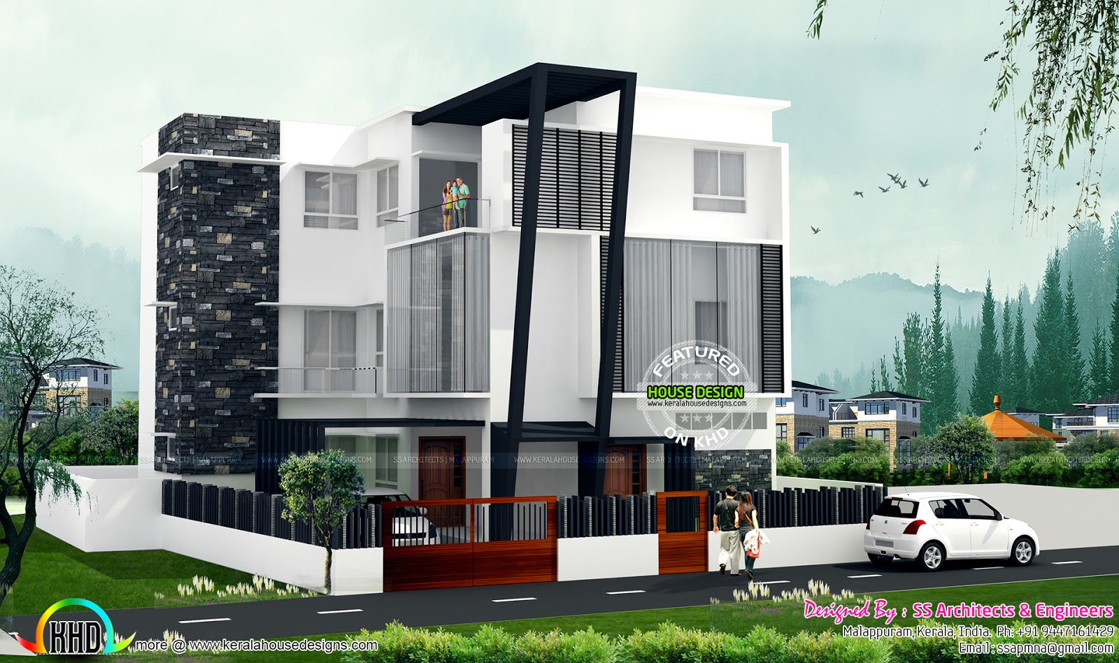 Multi purpose home design kerala home design and floor plans for Multi purpose building plans