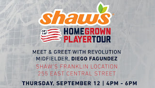 Diego Fagundez at the Franklin Shaw's - Sep 12