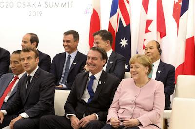 Por que a divulgação da presença de Bolsonaro em uma reunião do G20 sobre as mulheres se resumiu a uma foto?