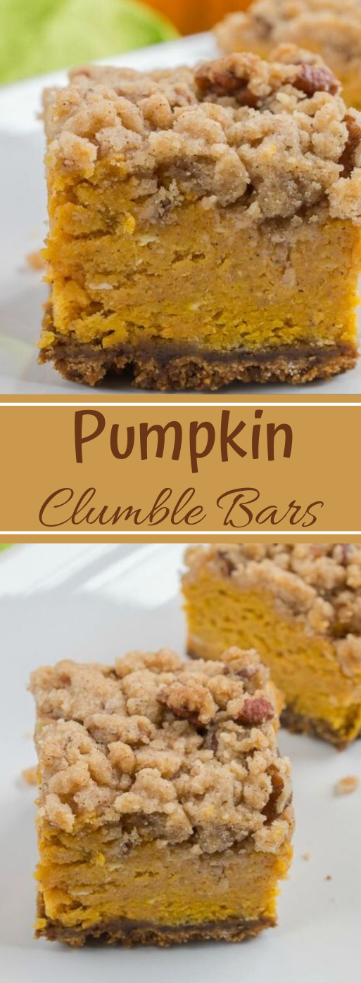 Pumpkin Crumble Bars #dessert #pumpkin #crumble #bars #easy