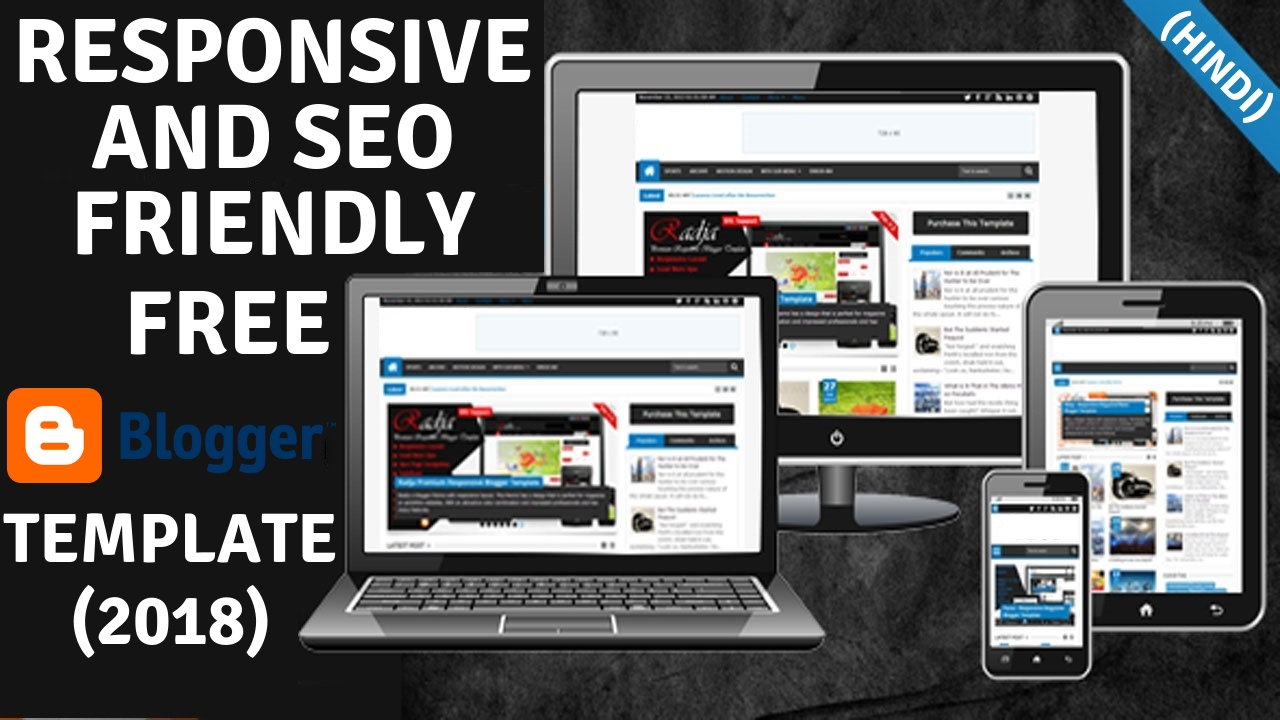 best 7 responsive seo friendly and mobile friendly blogger template