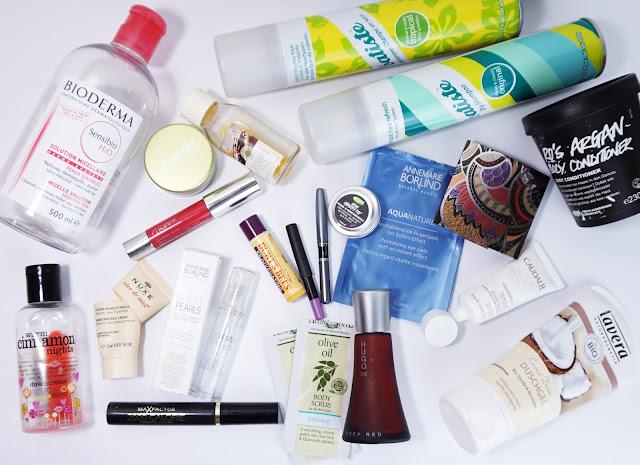 Aufgebrauchte Kosmetik - Februar 2016