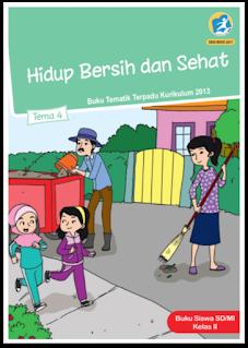 download gratis buku tematik kelas 2 tema 4