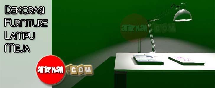 Dekorasi Furniture Lampu Meja