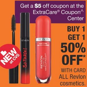 FREE Revlon Lip Gloss or Shadow at CVS 10/13-10/19