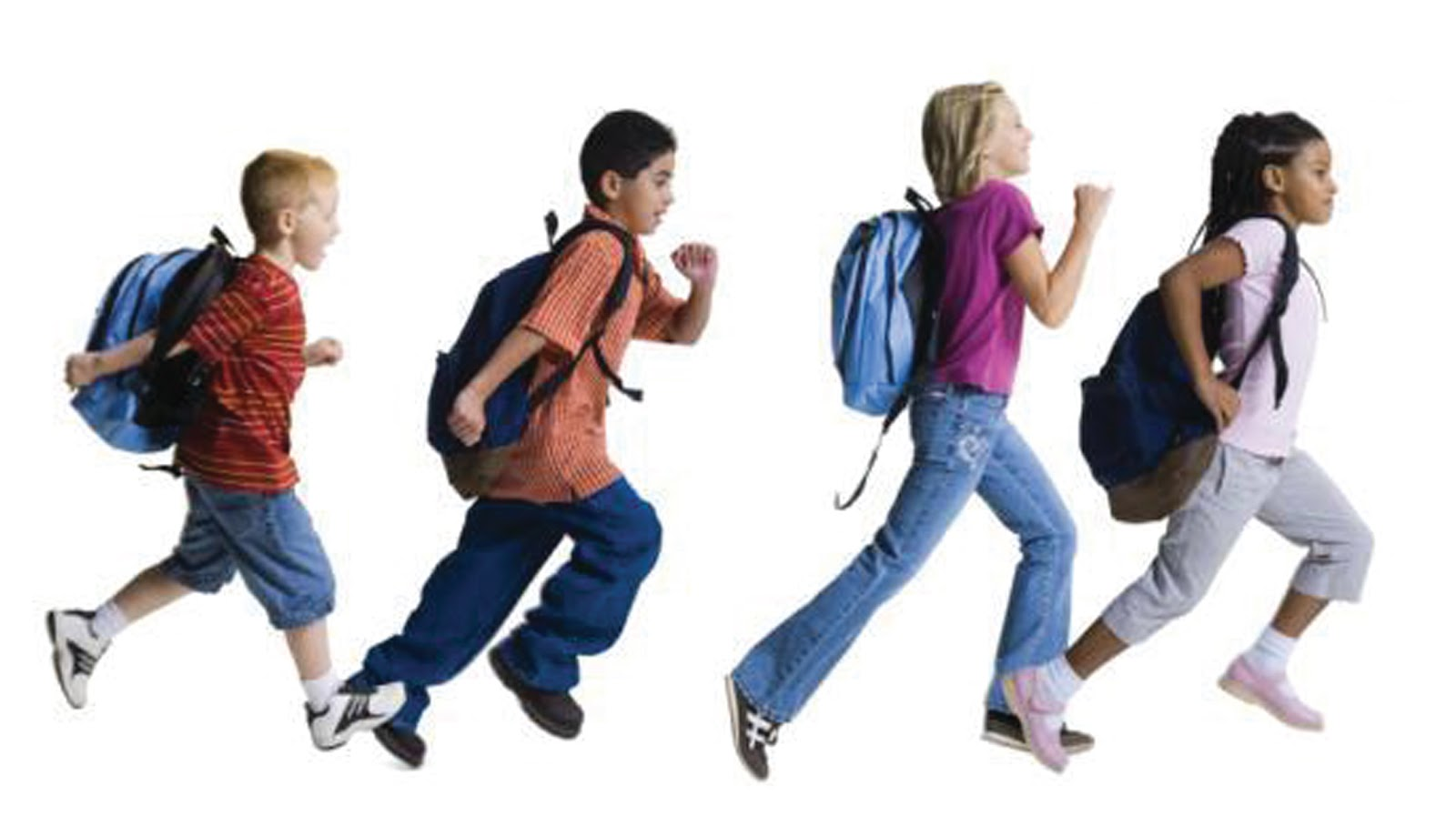 children running in school - photo #19