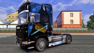 Star Wars skin for Scania R