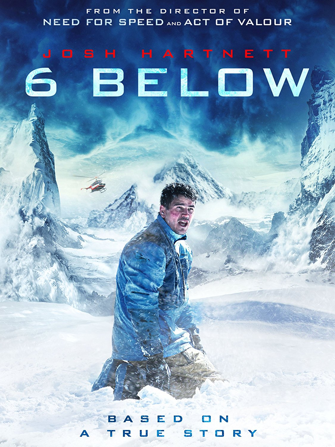6 Below: Miracle on the Mountain [2017] [DVDR] [NTSC] [Latino]