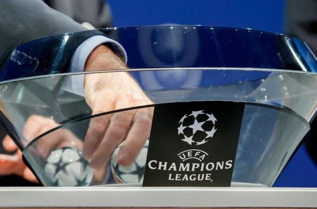 Pembagian Pot Undian Liga Champions