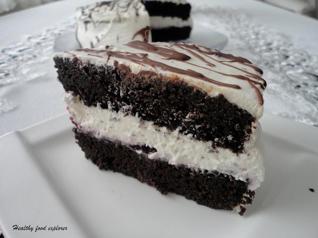 Fit torcik czekoladowy