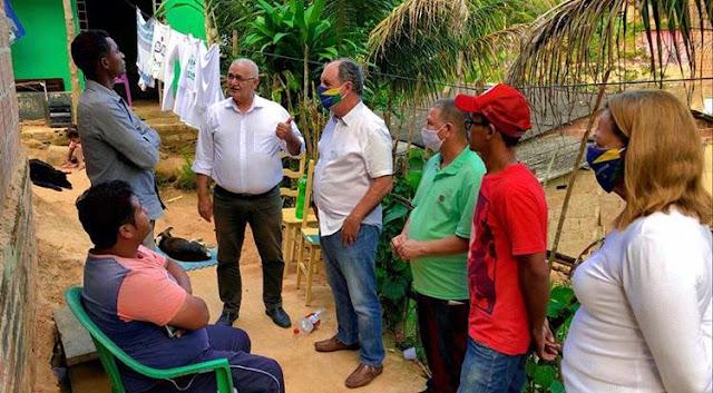 Zé Mauro Chaves adota visitas porta a porta como principal estratégia de campanha