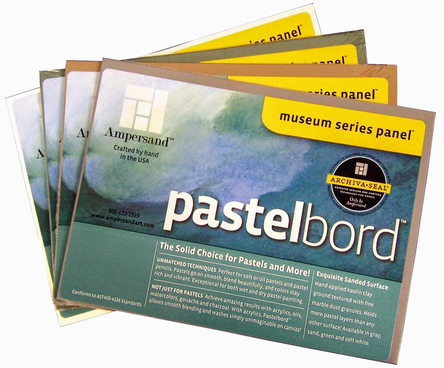 Pastelbord sampler