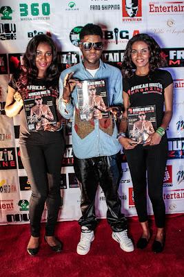 Skales at African Muzik Magazine launch