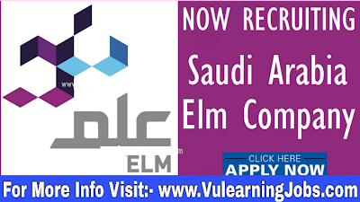 Elm Services Company Careers & Jobs 2019 In Saudi Arabia