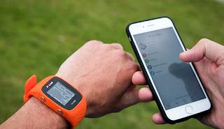 Corredor reloj móvil GPS