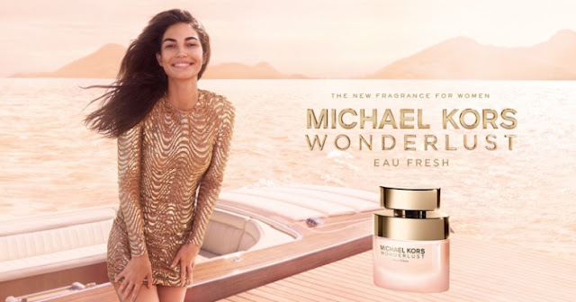 Reklama perfum Michael Kors Wonderlust Eau Fresh