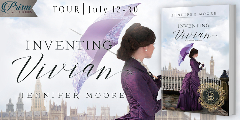 We're launching the Book Tour or INVENTING VIVIAN by Jennifer Moore!