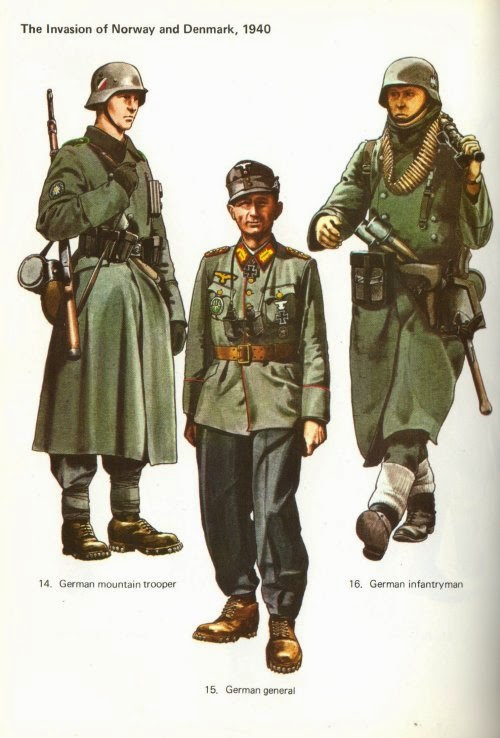 Early War German Gebirgsjäger (German Mountain Troops) Uniforms Pictures 1