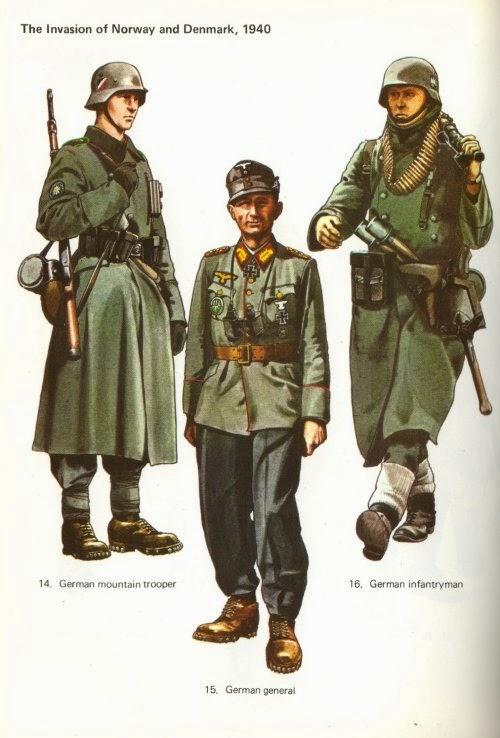 Early War German Gebirgsjäger (German Mountain Troops) Uniforms Pictures 1