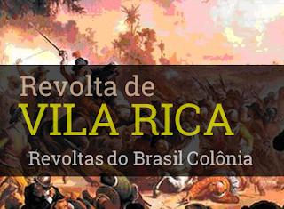 revolta de vila rica filipe dos santos desfecho como terminou participantes