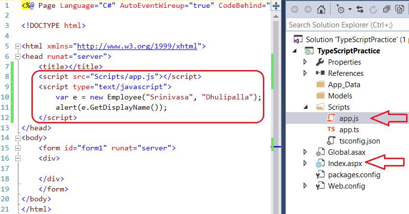Running TypeScript Code