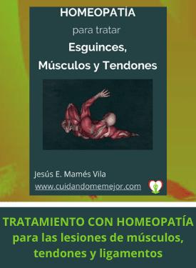 ebook homeopatía para problemas musculares, de tendones y ligamentos
