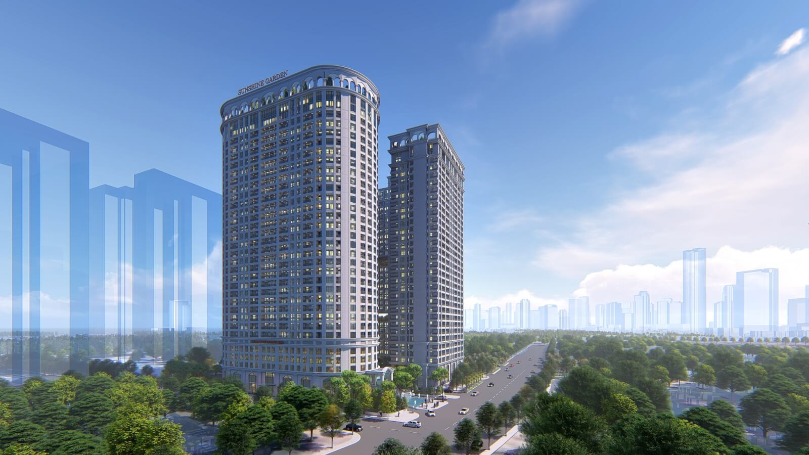 Sunshine Garden - Khu căn hộ cao cấp cạnh Times City