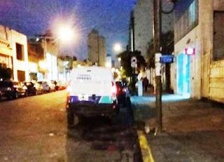 Esto pasó este miércoles cuando un vecino paso por calle 47 entre Diagonal 74 y 9 de la ciudad de La Plata, y se encontró que quienes manejaban entraban al cajero del banco Citibank sucursal La Plata.