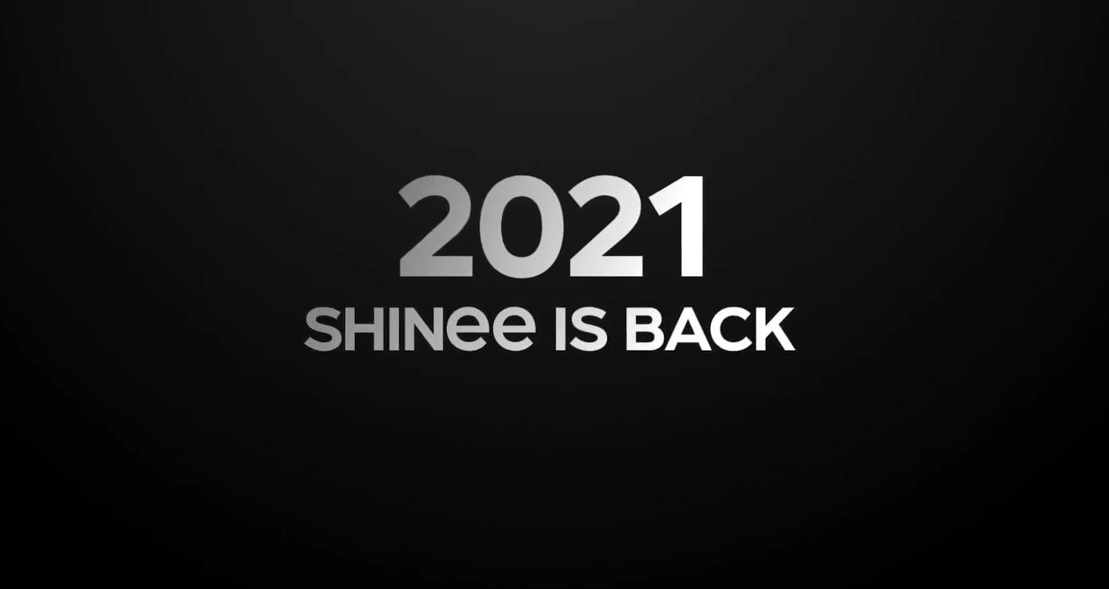 shinee is back 2021