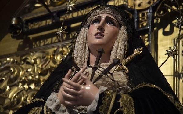 La Soledad de San Buenaventura presentará su nuevo manto de salida en la exposición del Consejo