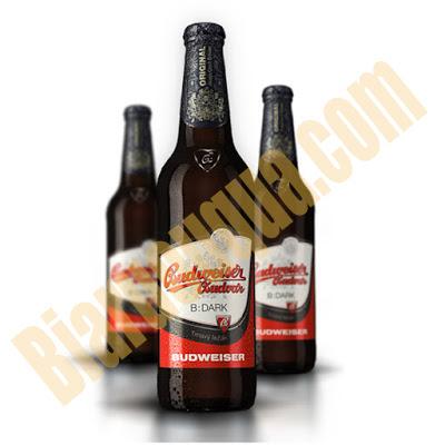 Bia chai Budweiser Budvar Dark