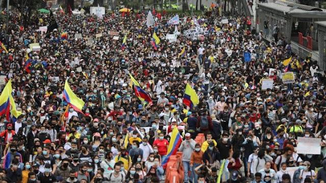 #ParoNacionalIndefinido Comité Nacional del Paro anuncia que manifestaciones continuarán este jueves 29 de abril