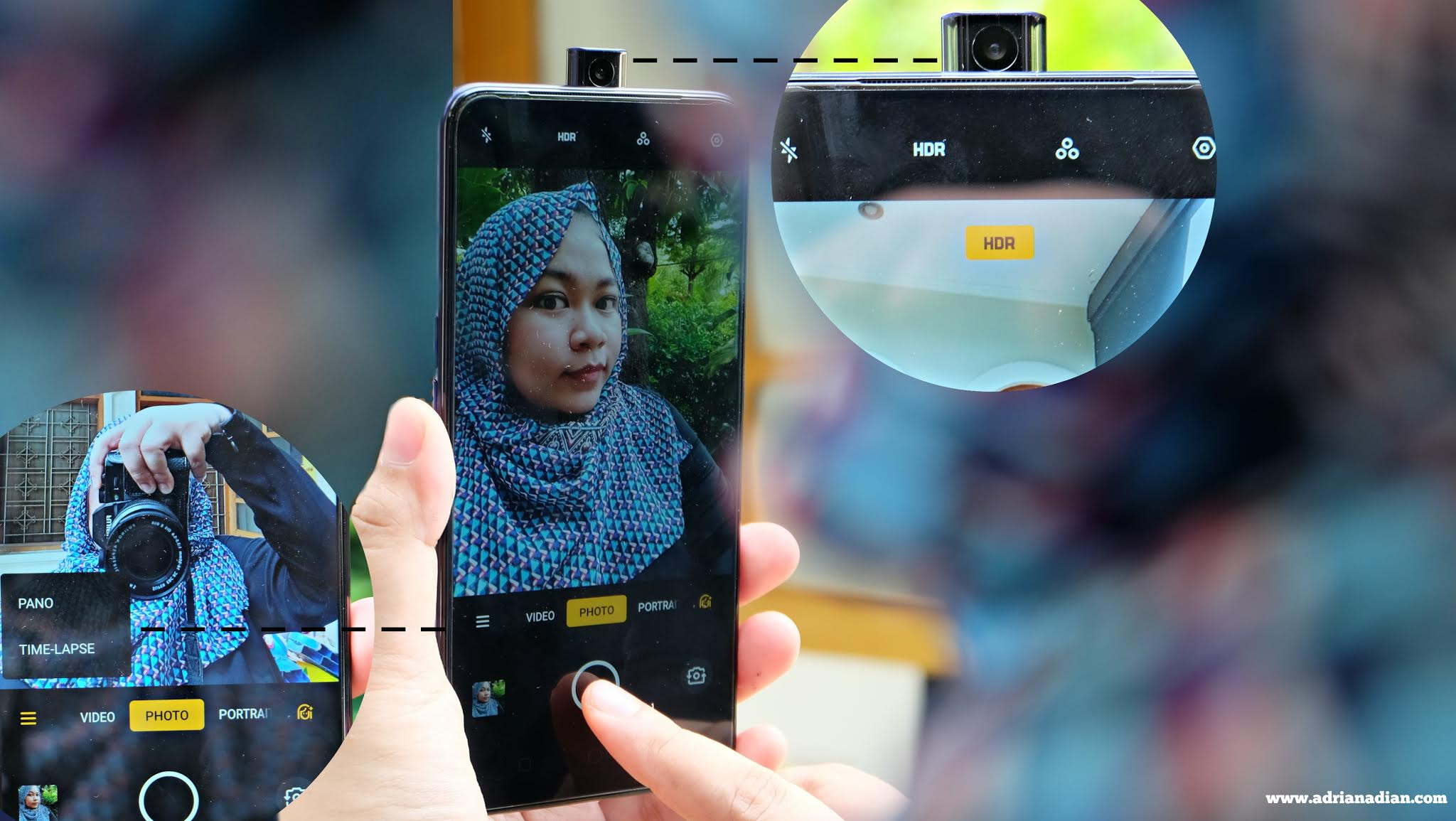 Rising kamera Oppo F11 Pro