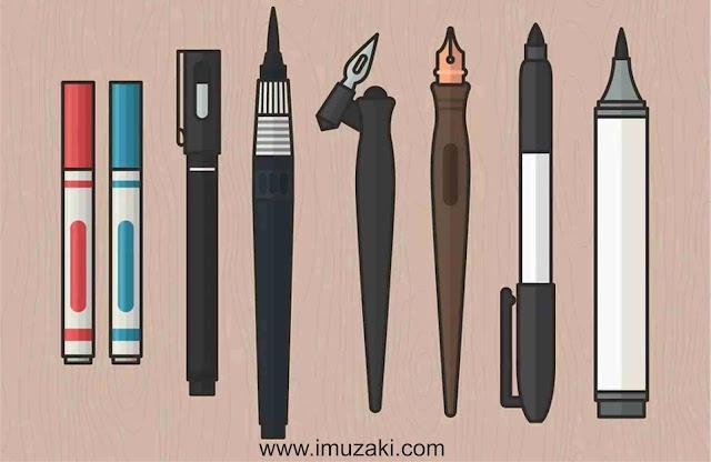 peralatan-sederhana-belajar-kaligrafi