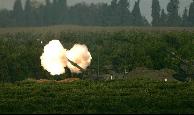 Artillería israelí responde a fuego procedente de Siria
