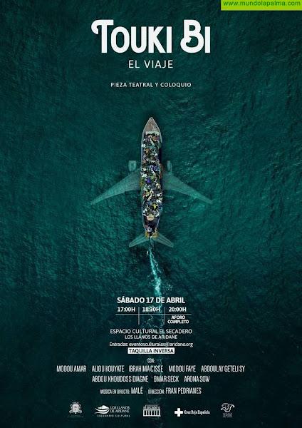 """Los Llanos presenta """"Touki Bi, El viaje"""", una obra de teatro sobre migración contada por los protagonistas"""