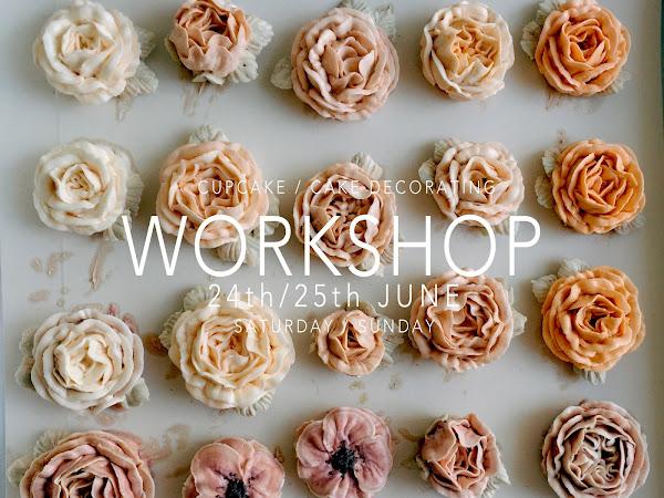 WORKSHOP: CAKE/ CUPCAKE DECORATING