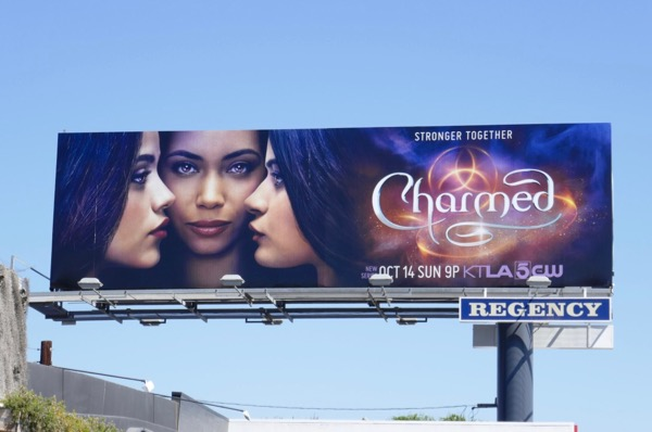 Charmed TV remake billboard