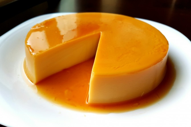 Resepi Puding Gula Hangus (Puding Karamel) Mudah dan Sedap