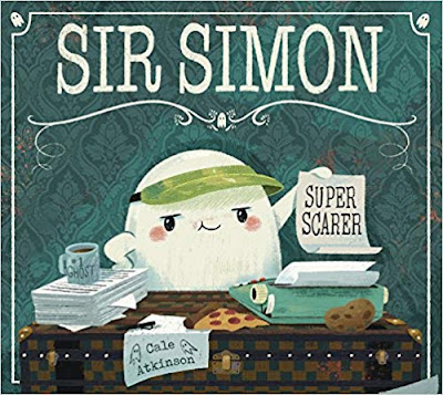 Sir Simon Super Scarer - a bookwrap