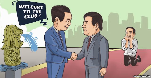 PM Singapura Isyaratkan Akan Ada Pergantian Presiden Indonesia?