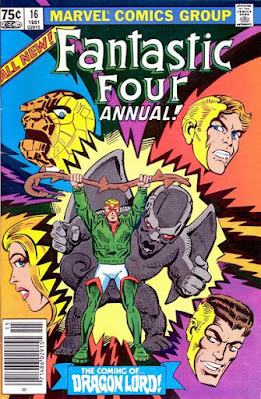 Fantastic Four Annual #16, Steve Ditko